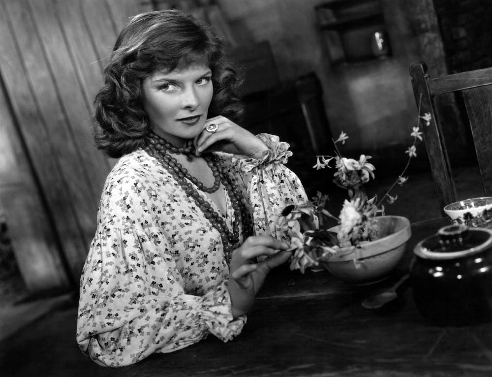The ever glamorous, Katharine Hepburn