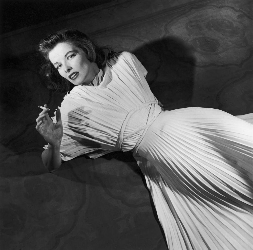 Vintage style icon, Katharine Hepburn