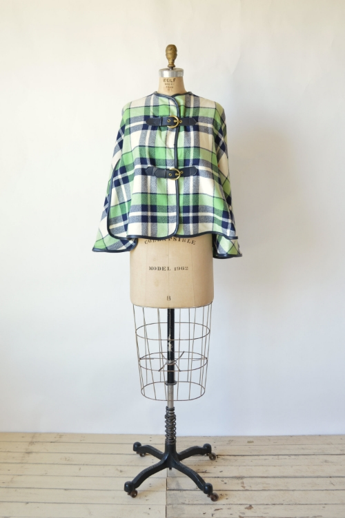 Fall Vintage Cape