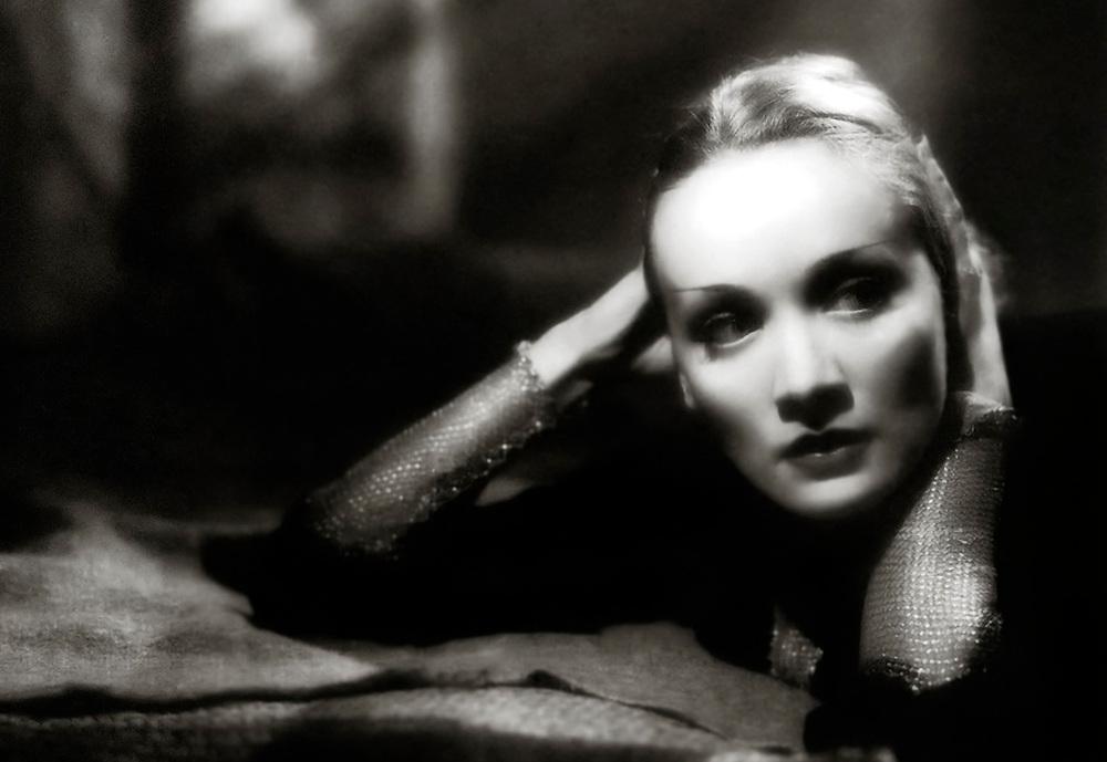Hollywood starlet, Marlene Dietrich