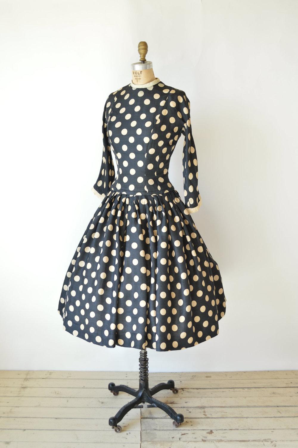 Vintage 1950s Suzy Perette Dress