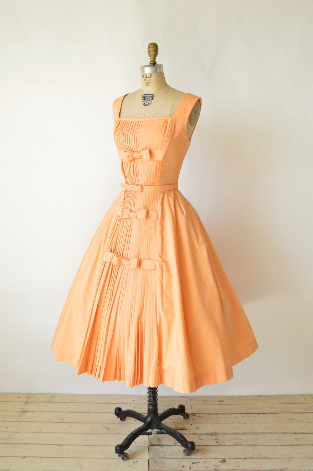 Vintage 1950s Suzy Perette Party Dress