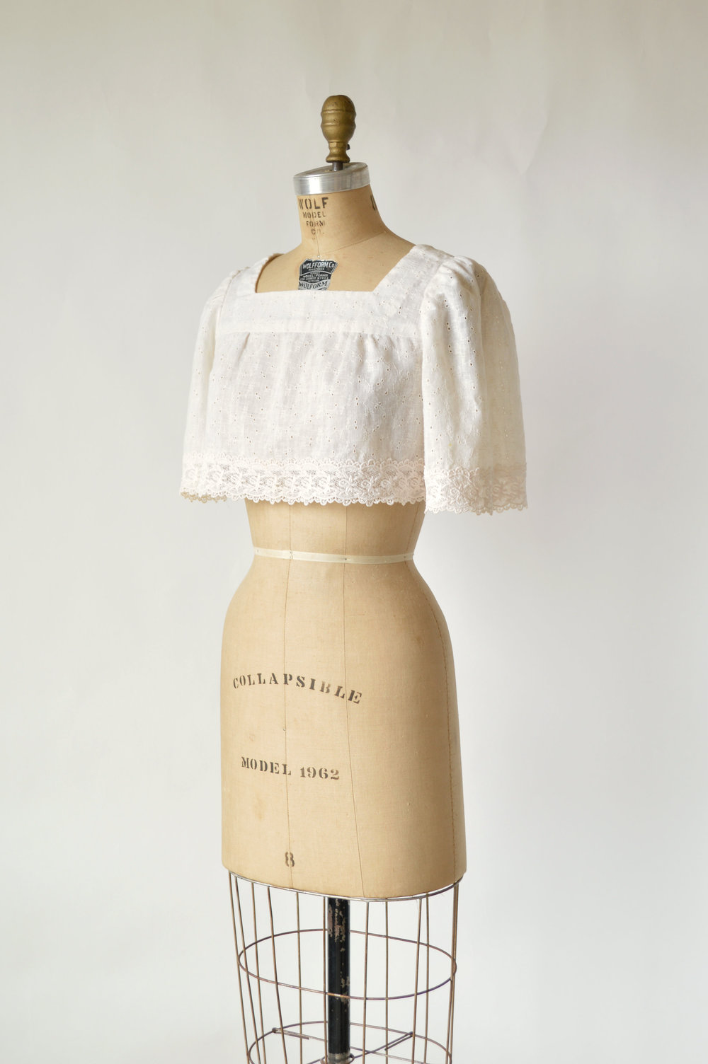 Vintage 1970s Crop Top