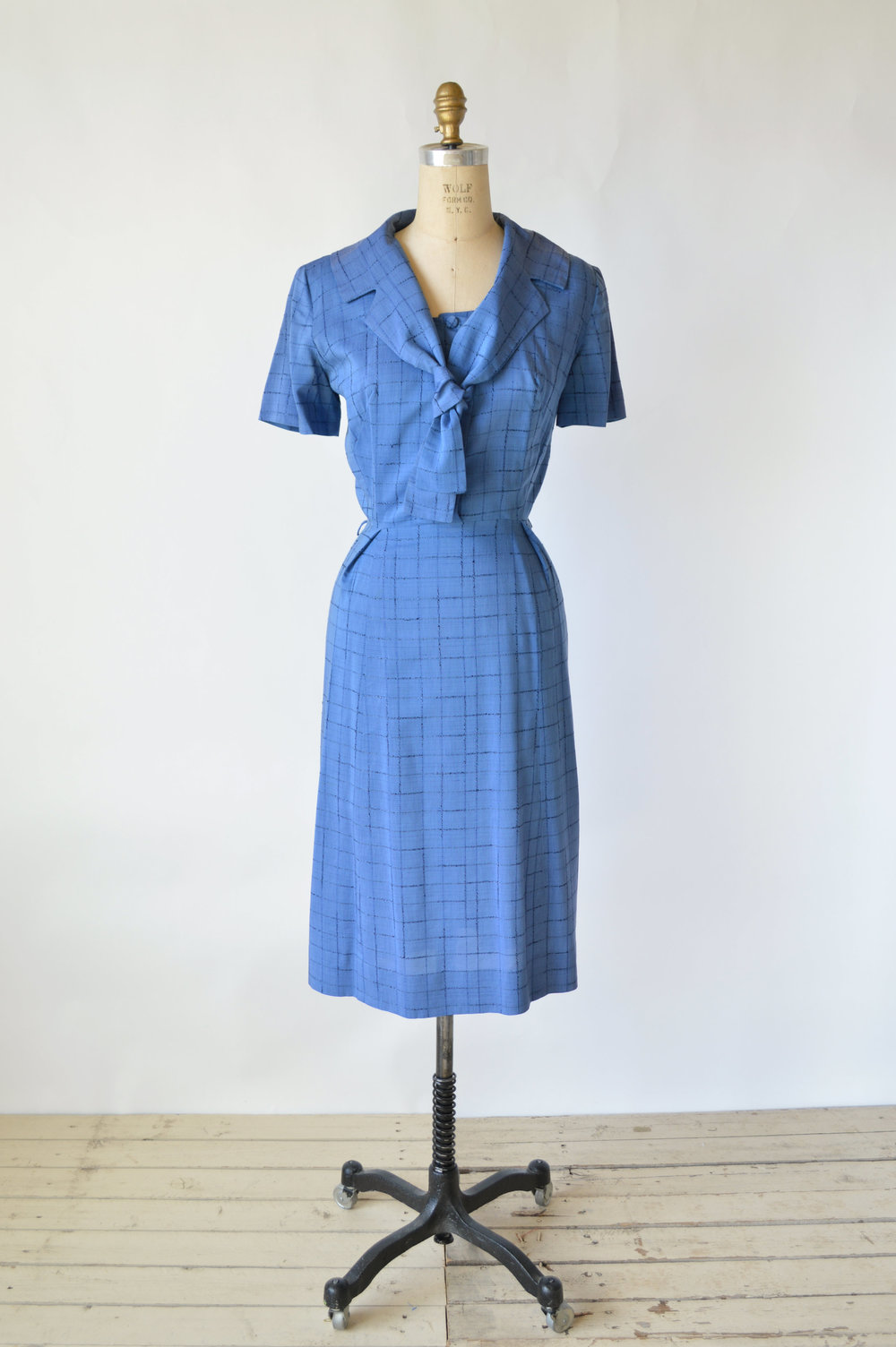 1950s Cotton Day Dress via Dalena Vintage