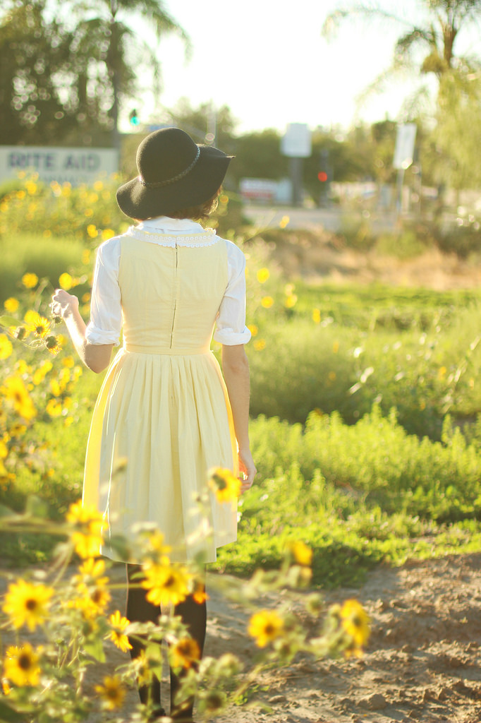 Styling vintage dresses from Alexandra of Into the Woods