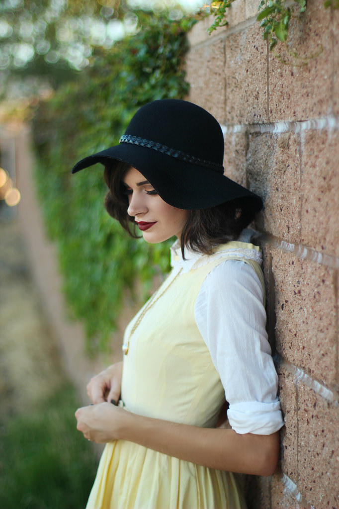How to Style Vintage Fashion via Into the Woods