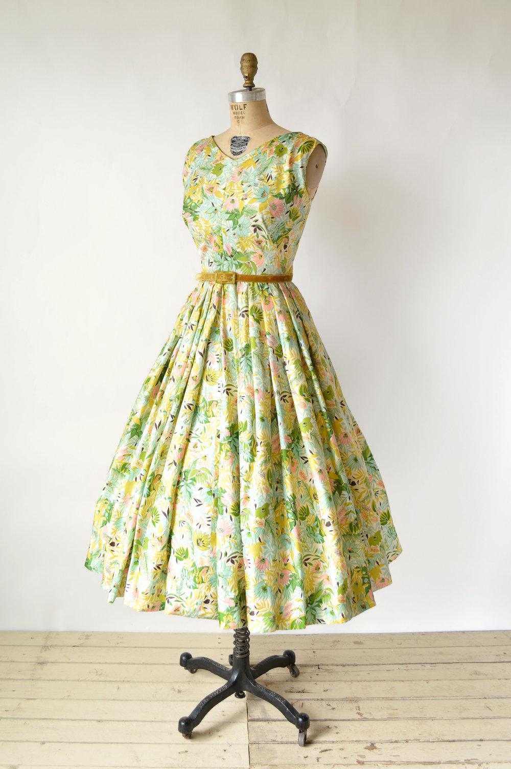 Vintage Mollie Parnis Dress