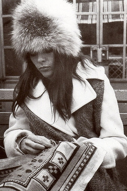 Style icon, Ali MacGraw in Love Story