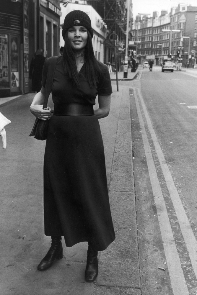Style icon, Ali MacGraw in the 1970s