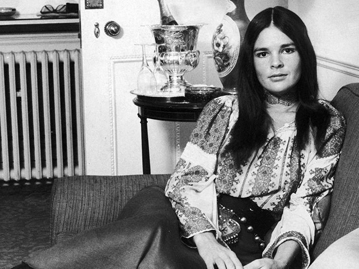 Timeless style icon, Ali MacGraw