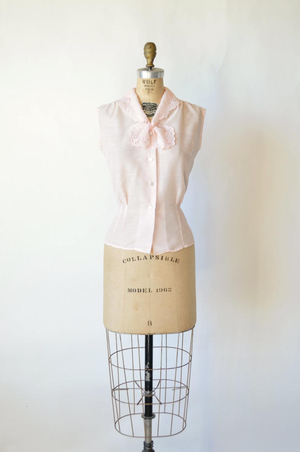 Vintage Pink Blouse from Dalena Vintage