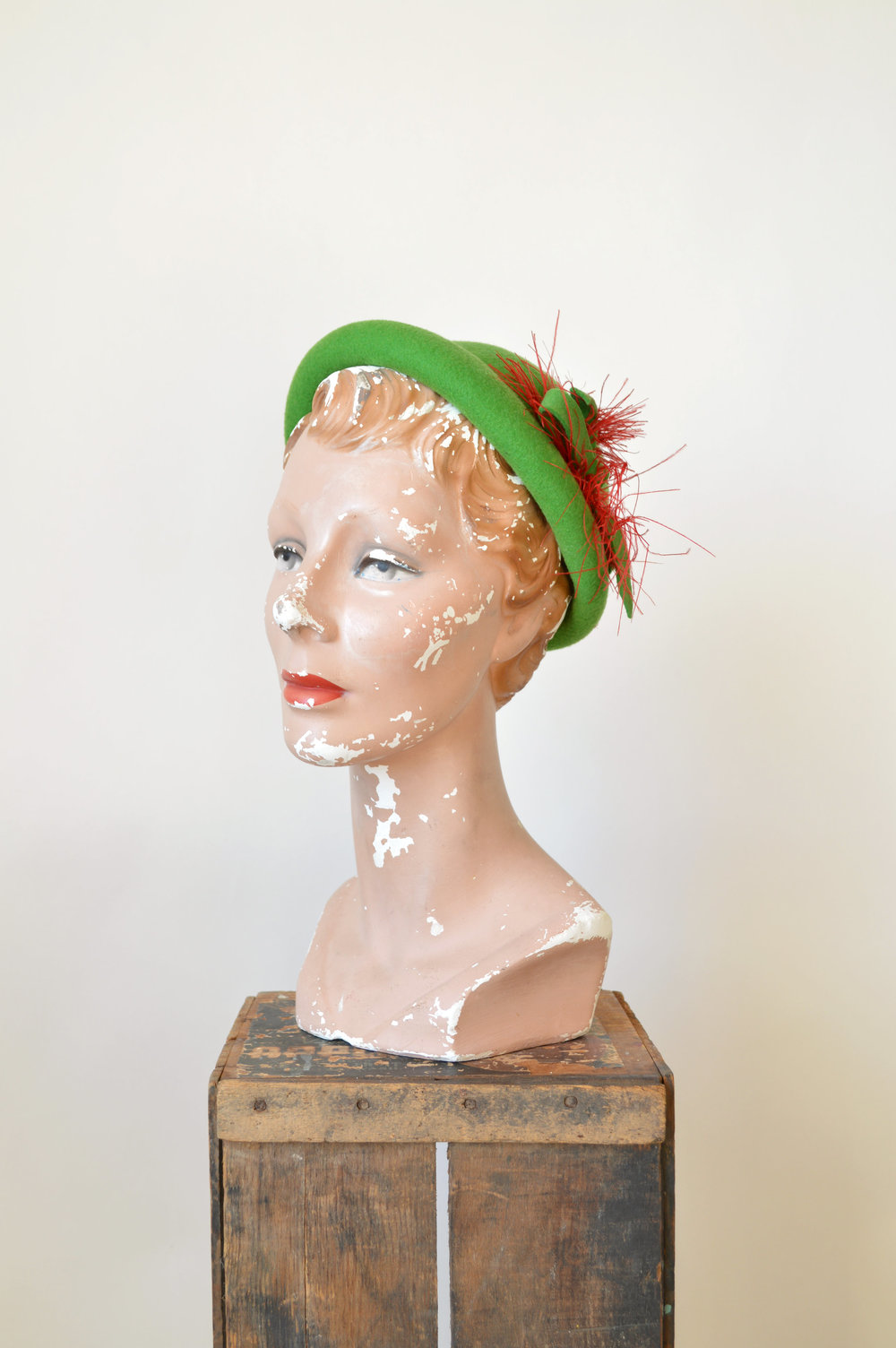 Vintage 1950s Christmas Hat