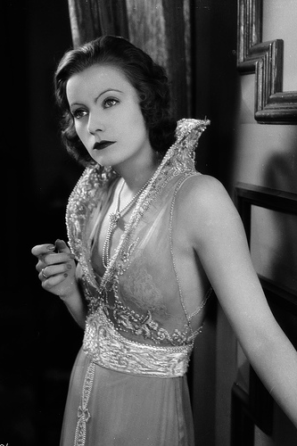 Hollywood starlet, Greta Garbo