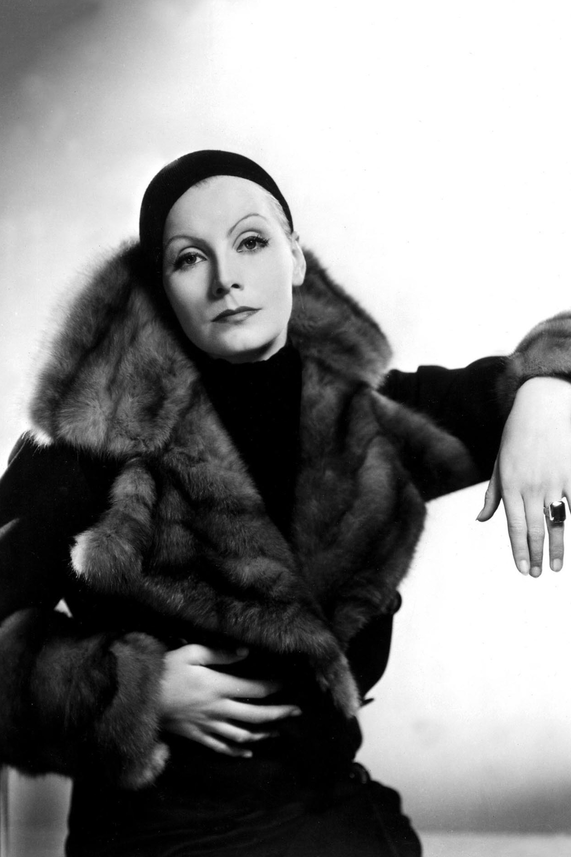 Vintage style icon, Greta Garbo
