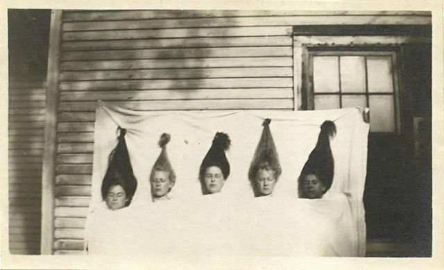 Creepy vintage Halloween photo