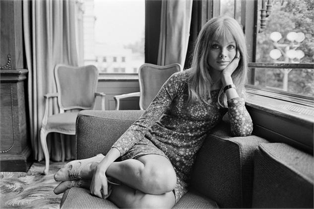 Sixties style icon, Jean Shrimpton.