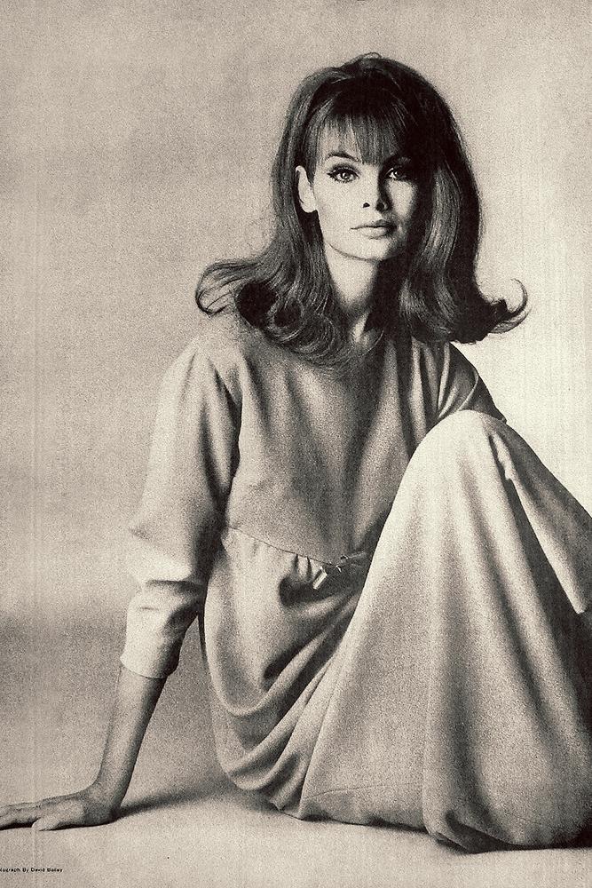 1960's style icon, Jean Shrimpton.