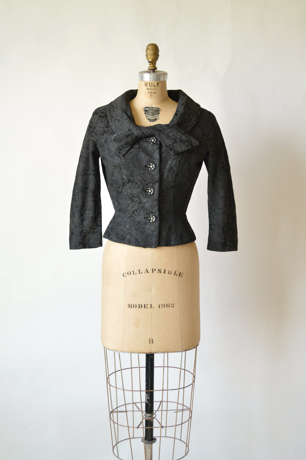 Vintage 1950's Tailored Holiday Jacket from Dalena Vintage