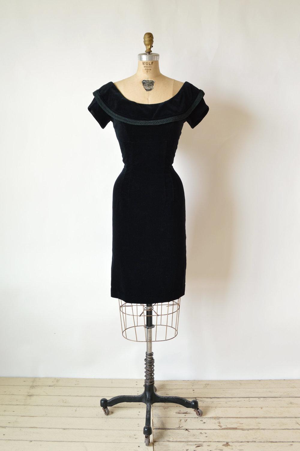 Vintage 1950's Bombshell Dress