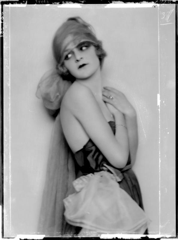 Vintage style icon, Anita Berber