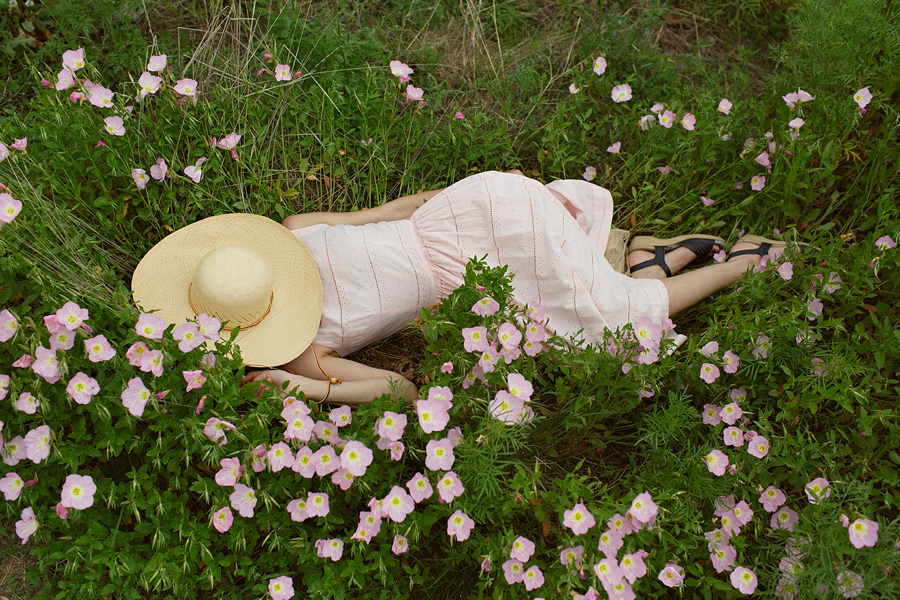 Lazy spring day in fields of buttercups. Photo by Nicole Mlakar.