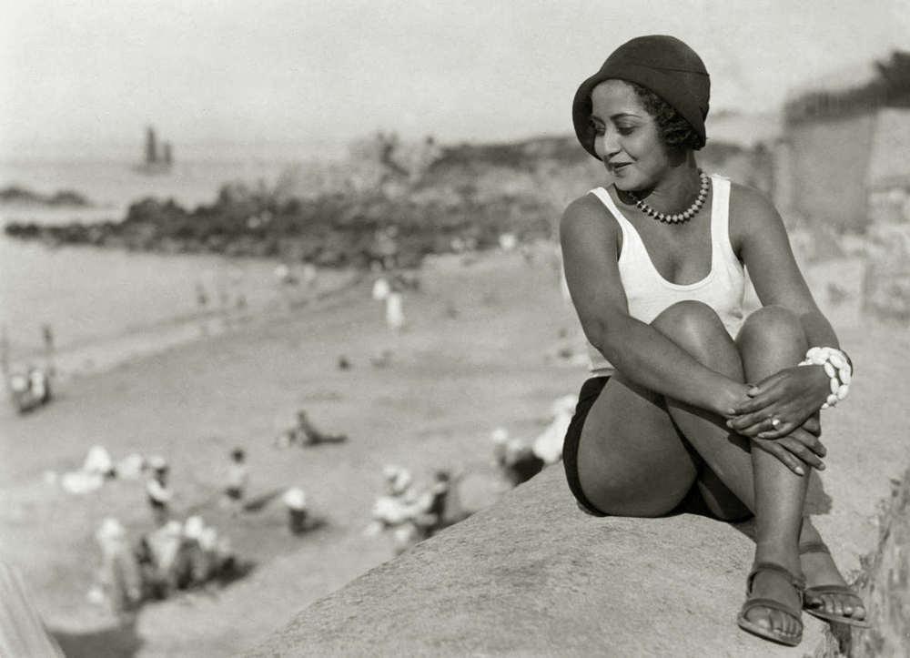 Vintage beach style,1930s