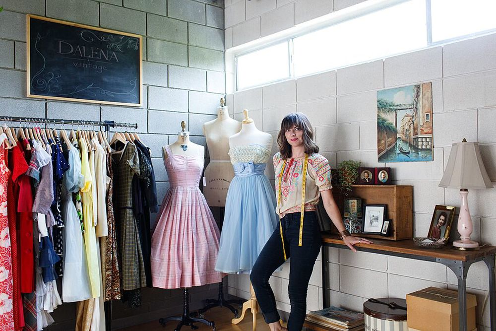 Dalena Vintage studio in Austin, Texas. Photo by Nicole Mlakar.