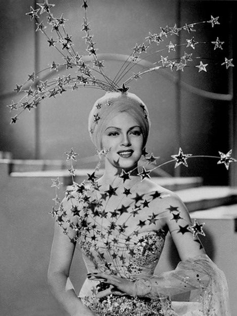 Lana Turner's amazing star costume in Ziegfeld Girl, 1941