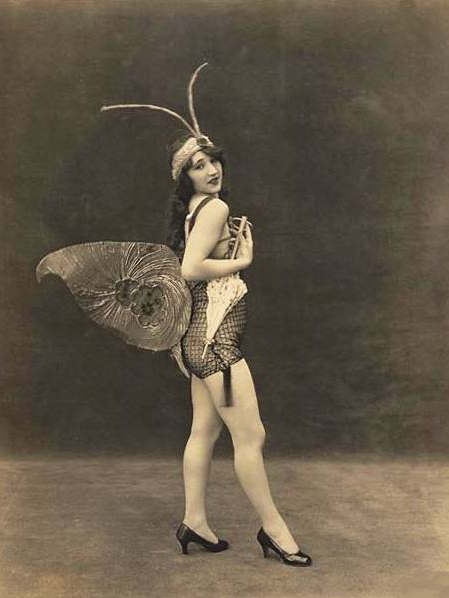 1920s butterfly costume