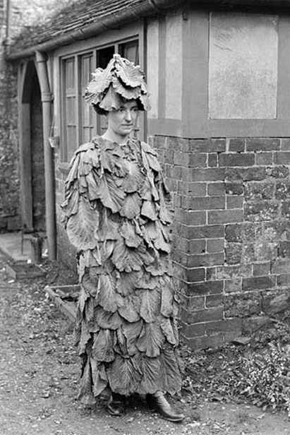 Vintage vegetable costume