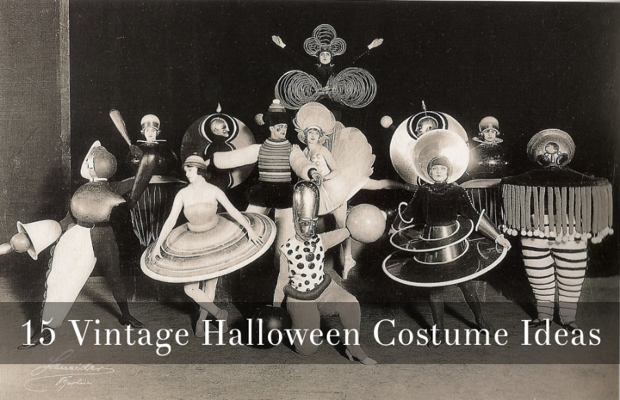 5 Vintage Halloween Costume Ideas