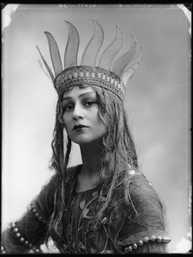 Christine Silver as Titania in A Midsummer Night's Dream, 1913