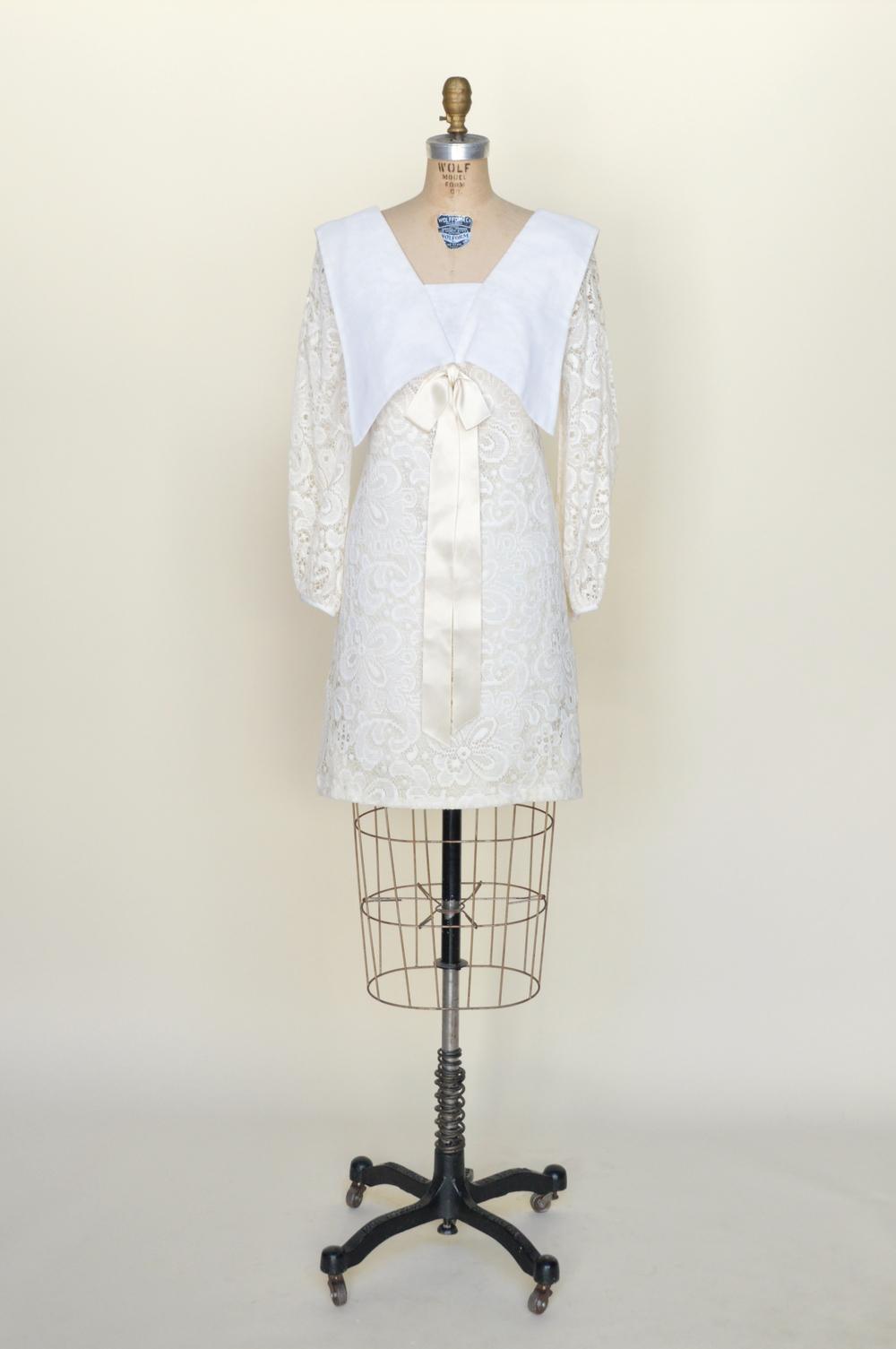 Ivory moonshine dress vintage clothing store online for Vintage wedding dresses austin