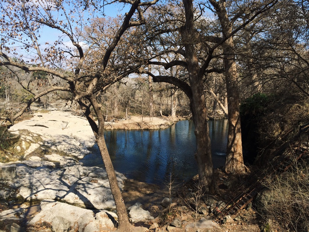 Krause Springs, Texas. Photo via Dalena Vintage.