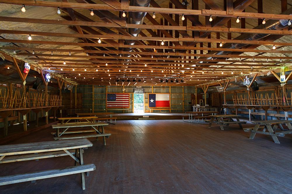 Albert Dance Hall in Albert, Texas. Photo by Nicole Mlakar.