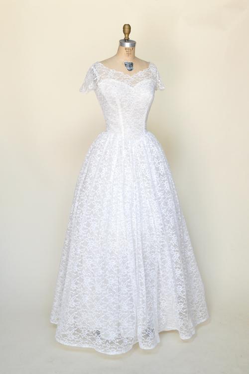 Rosalinda Wedding Gown — Vintage Clothing Store Online | Austin ...