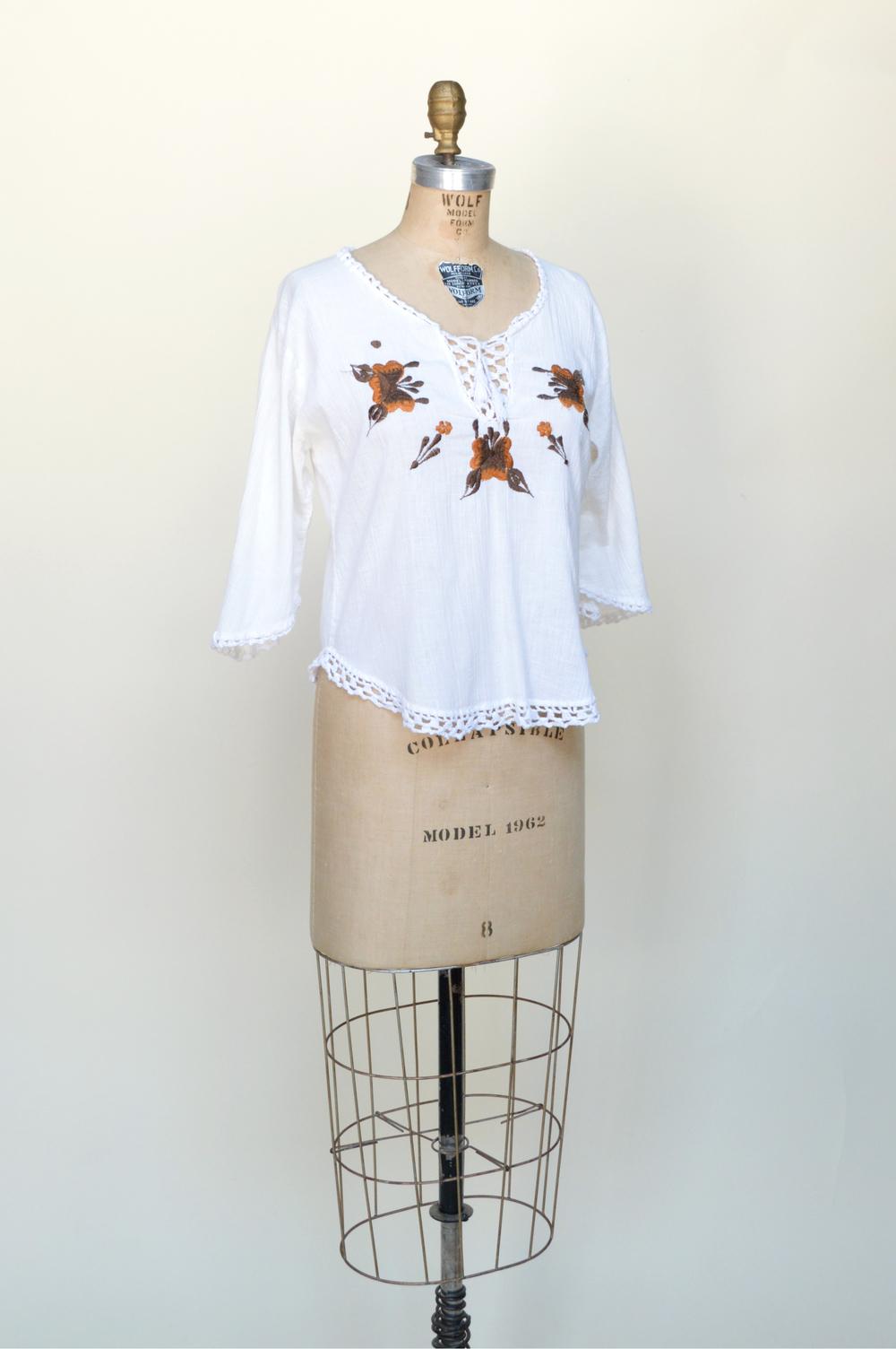 Vintage 1970s blouse from Dalena Vintage