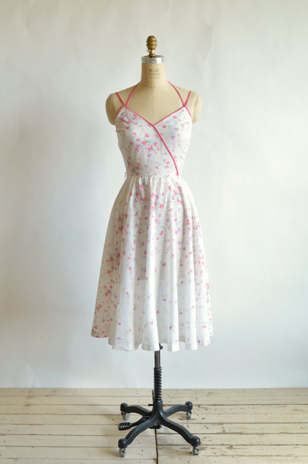 1970s summer dress from Dalena Vintage