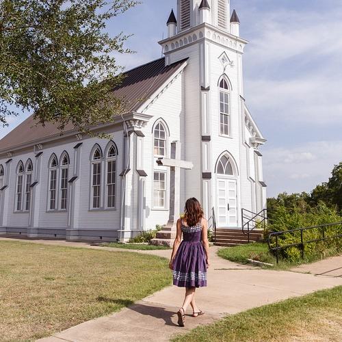 Saints Cyril and Methodius Church /// Dubina, TX