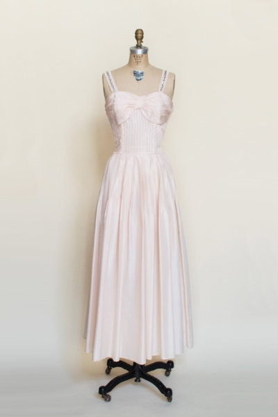 1950s party dress from Dalena's Attic