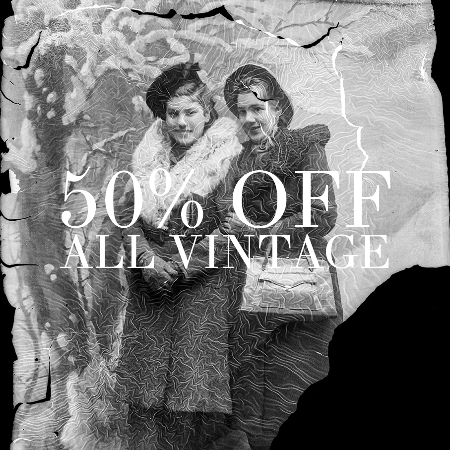 50% OFF End of the Year Sale at Dalena Vintage!
