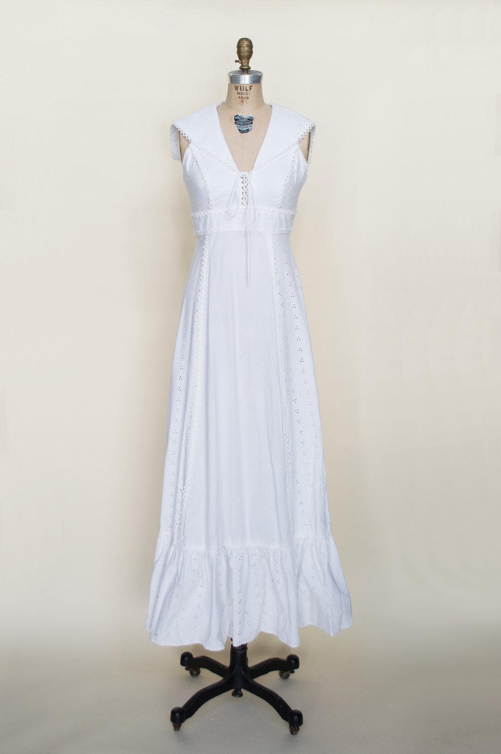 Sailorette dress vintage clothing store online austin for Vintage wedding dresses austin