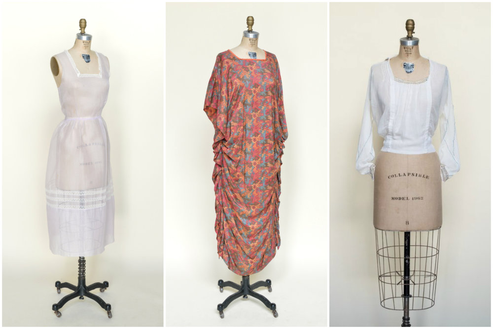 1920s vintage clothing from Austin-based vintage clothing shop Dalena Vintage