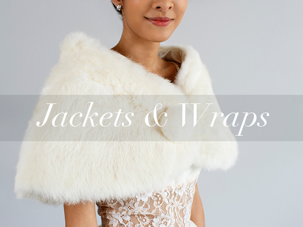 Vintage wedding jackets and wraps from online vintage clothing shop Dalena Vintage.
