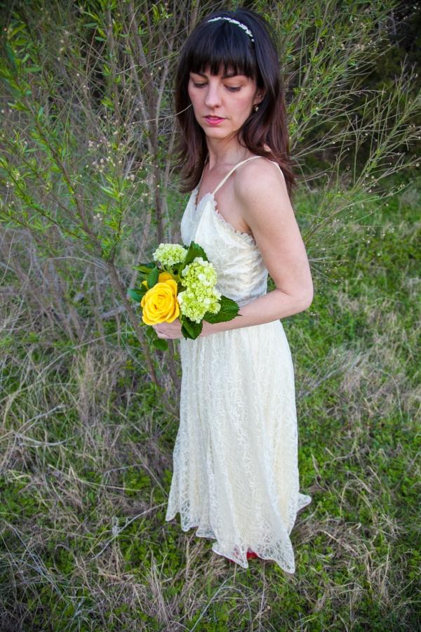 Lizette wedding dress vintage clothing store online for Vintage wedding dresses austin