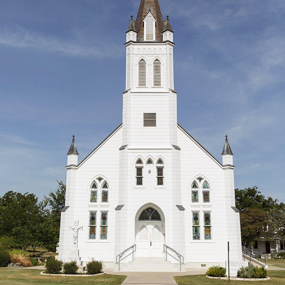 St. John the Baptist Catholic Church /// Schulenburg, TX