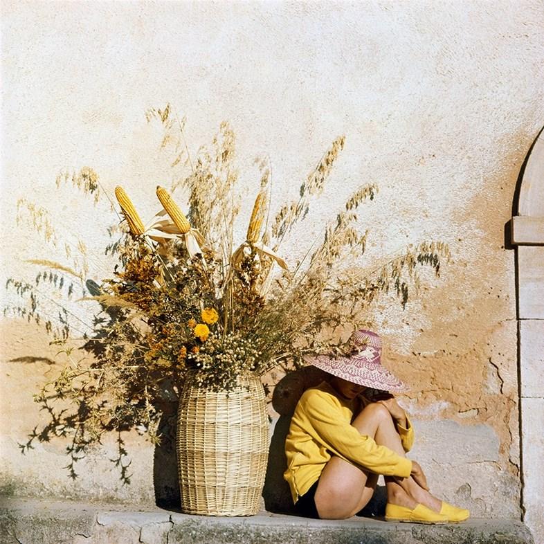 Florette, Piozzo, 1960. Photography by J.H. Lartigue