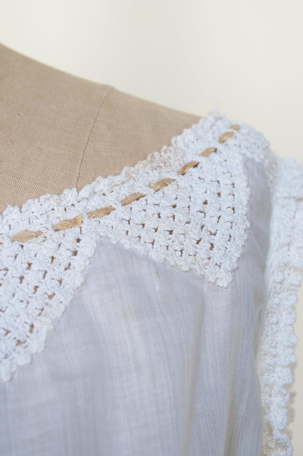 Edwardian camisole from Dalena Vintage