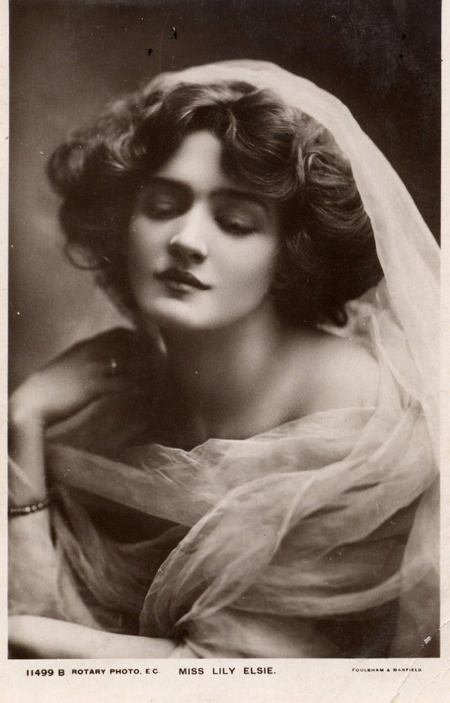 Edwardian beauty, Lily Elsie