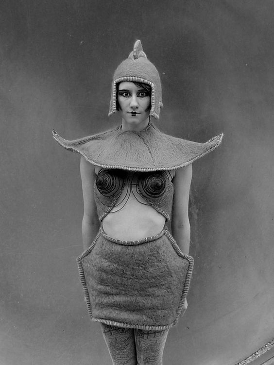 10 Vintage-Inspired Halloween Costumes. Channel an alien robot from the 1927 German film Metropolis.